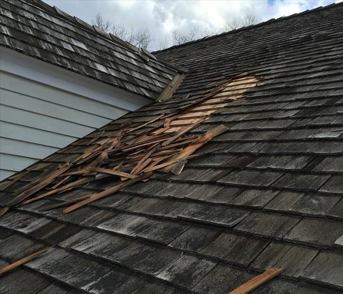 Storm Caused Roof Damage in Easton, CT Before