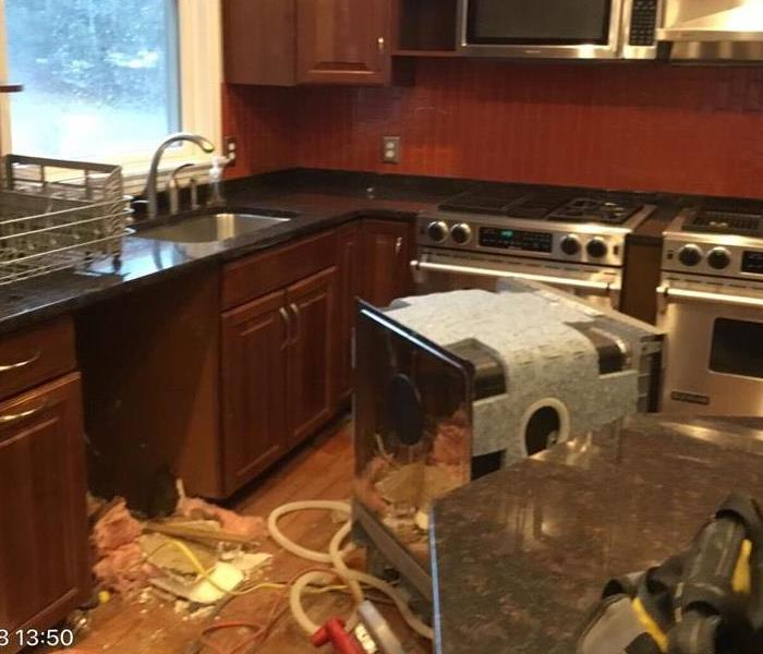 Dishwasher Leak