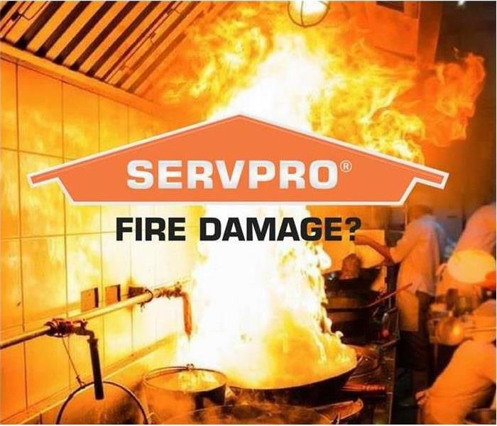 """SERVPRO, Fire Damage?"""